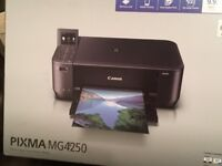 New Canon Pixma MG4250 Printer/Scanner with new ink cartridge