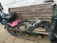 Hetty cylinder vacuum cleaner with tools