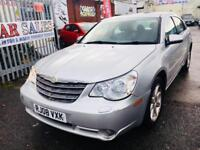 CHRYSLER SEBRING AUTOMATIC PETROL 2.4 LOW MILEAGE SATNAV LEATHER 2008 SUNROOF