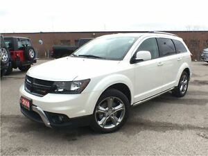 2016 Dodge Journey CROSSROAD**ALL WHEEL DRIVE**LEATHER**NAVIGATI