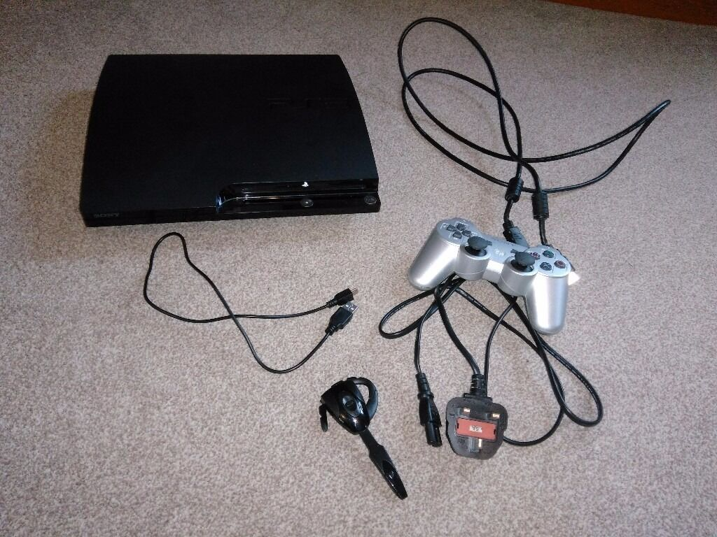 PS3 (Play Station 3) With Games