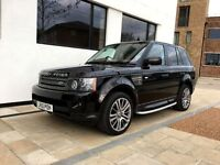 2010 │Land Rover Range Rover Sport 3.6 TD V8 HSE │F/S/H │1 OWNER ONLY │ REAR DVD SCREENS │WARRANTY