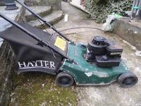 hayter hunter petrol lawnmower