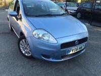 06 plate- fiat punto grande - 1.2 petrol- year mot - 5 door petrol - perfect drive - aircon working
