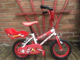 Minnie Mouse Toddler Bike