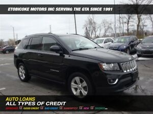 2015 Jeep Compass 4X4 / LEATHER / SUNROOF