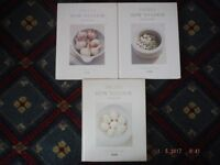 3x Job Lot Delia Smith Volumes 1-3 How To Cook,370 Recipes. Basic Home Cooking well explained USED