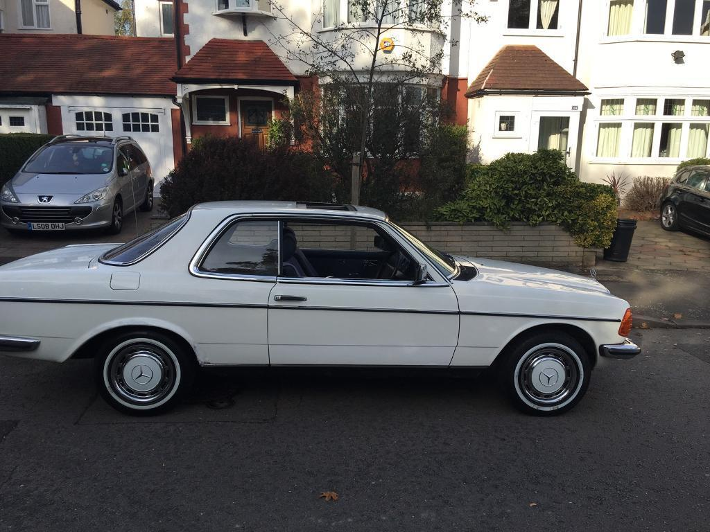 mercedes w123 coupe in newham london gumtree. Black Bedroom Furniture Sets. Home Design Ideas