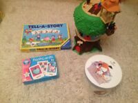 Treehouse, 2 Kipper jigsaw, 50 extra large flashcards, Tell a Story game by Ravensburger