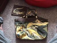 Lacoste bag and purse