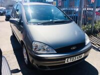 FORD GALAXY 1.9 TDI GHIA DIESEL MANUAL 6 SPEED 7 SEATERS