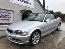 BMW 318 CI AUTO 2.0 PETROL CONVERTIBLE £2395!!