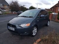Mitsubishi colt 1.3 cz2 2012, low miles, MOT, reliable and economical family car with HPI report