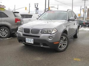 2007 BMW X3 3.0i | Leather • Panoramic Roof