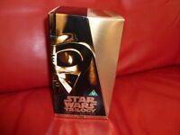 STAR WARS TRILOGY VHS COLLECTORS BOX SET