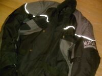 MOTORCYCLE WET GEAR AND BOOTS