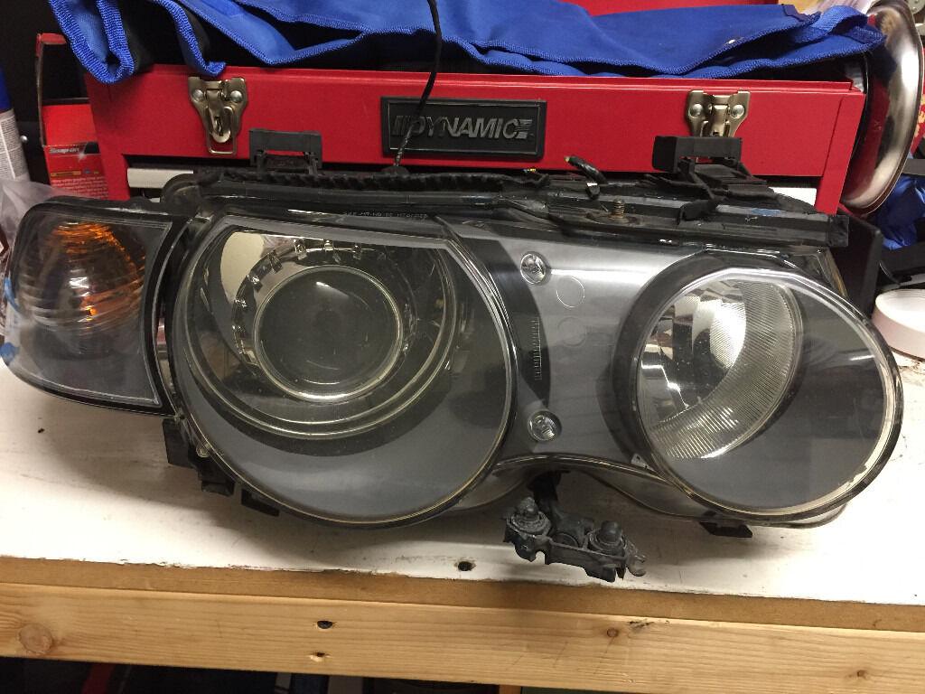 Genuine Bmw E46 Compact Xenon Headlights