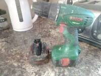 Bosch cordless with spare battery