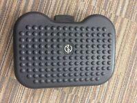 Adjustable Office Footrest Black