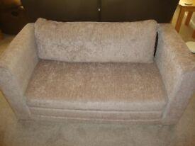 IKEA ASKEBY DOUBLE SOFA BED IN BEIGE