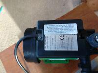 Salamander CT55 water boost pump. Single head 240V.