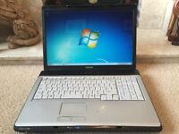 Toshiba Satellite, Dual Core, 2GB, 120GB, Windows 7, Large 17.1 inch LCD Laptop - RRP £999