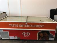 Commercial chest freezer 2m by 80cm