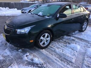 2014 Chevrolet Cruze 2LT, Automatic, Leather, Heated Seats