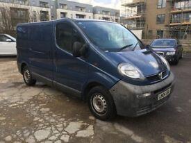 Vauxhall Vivaro 1.9Di 2700 SWB Panel Van