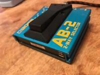 Boss AB-2 2 way selector switch pedal