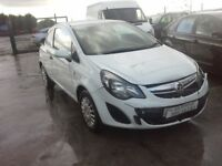**For breaking** Vauxhall Corsa van 1.3 Cdti diesel, 5 speed (2014).