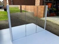 3 door mirrored cabinet from Victoria Plum - Chamonix