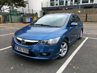 2010(60)HONDA CIVIC 1.3EX IMA HYBRID(ONE Previous OWNER)full history can PCO nt Toyota Prius INSIGHT