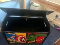 Kids marvel storage box