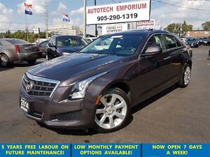 2014 Cadillac ATS 2.0L Turbo AWD Sunroof/Leather/Camera& GPS