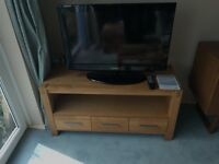 Solid Wood Television Table