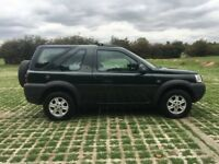 LANDROVER FREELANDER 1.8 MAASAI MARA 53 PLATE HARD TOP IN VGC