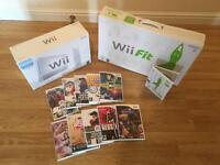 Wii Fit Console With Balance Board & 10 Games £30 no offers