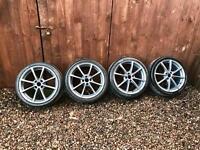 """Vauxhall, Renault, Toyota 17"""" Alloy Wheels, Alloys"""