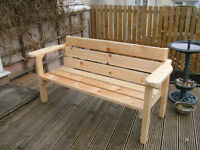 HAND BUILT CHUNKY BENCH