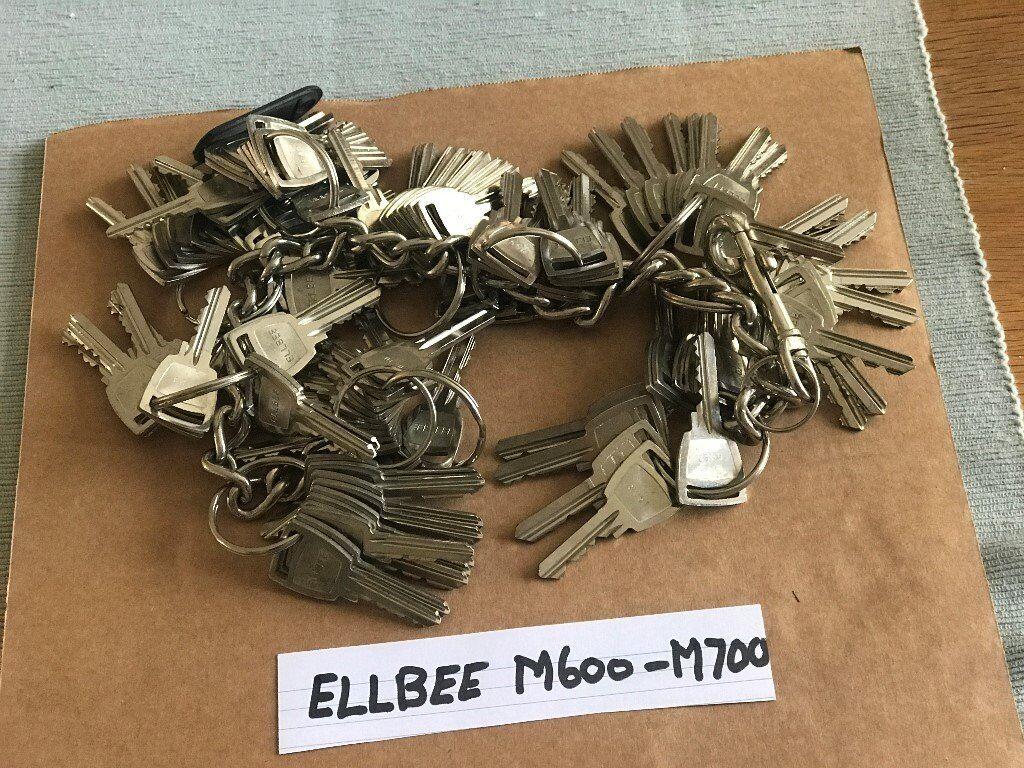 unusual sets of static caravan keys and master keys suit locksmith