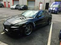 HIGH SPEC MAZDA RX8 2.6 MOT TILL JUNE IN MINT CONDITION 255 BHP OR MAY CONSIDER A SWAP