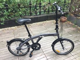 "Citizen Bike 20"" 6-speed Folding Bike with Custom Carrying Bag - GREAT CONDITION"