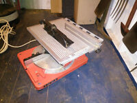 Combination table/chop saw