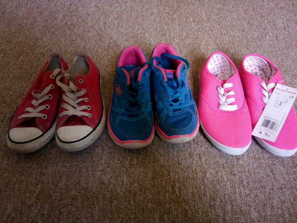 7ff7ecaefa155d Pink converse size 1 ads buy   sell used - find great prices
