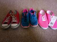 Kids Trainers Bundle size 1