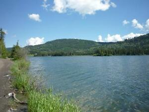 SULLIVAN-KNOUFF LAKE WATERFRONT PROPERTY, NEAR SUN PEAKS SKI