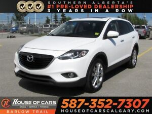 2013 Mazda CX-9 GT / Navi / 7 passengers / Leather /