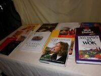 House Clearance. Cookery books. Coronation Street book. Games.