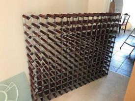 Very large wine rack